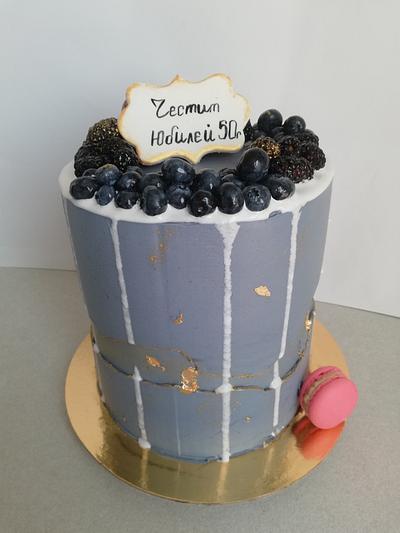 Anniversary cake for men - Cake by Marini's cakery