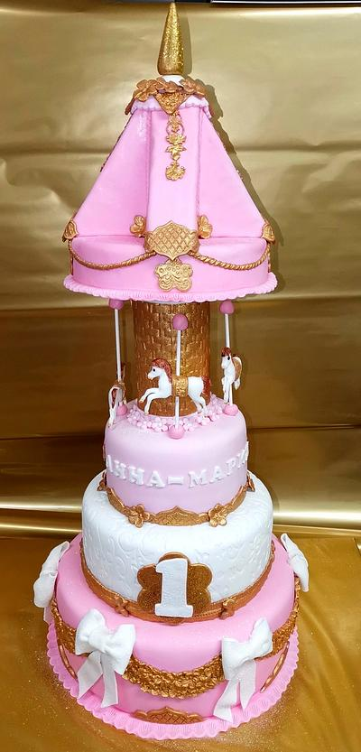 Cake Carousel - Cake by Sunny Dream