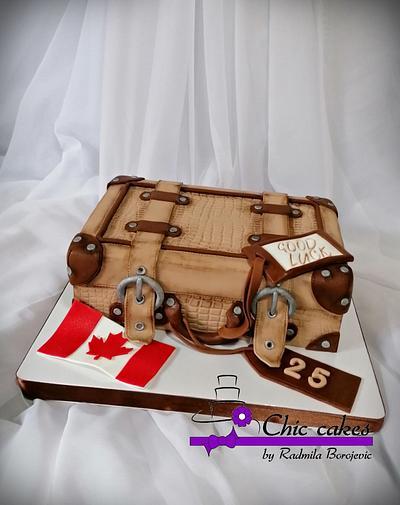 Suitcase cake - Cake by Radmila