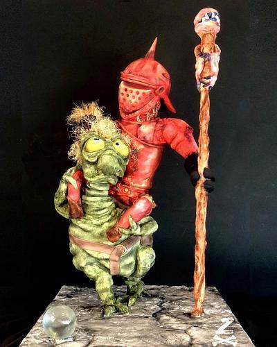 Goblin Knight - Cake by Zoe Byres