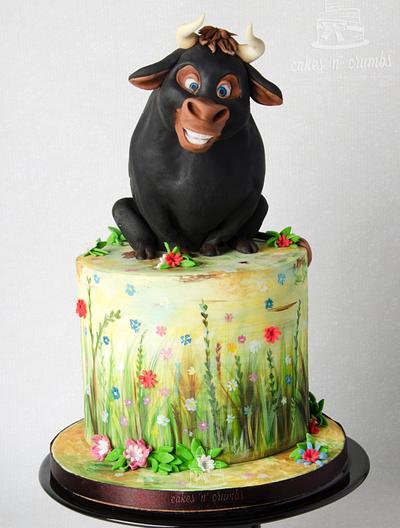 Ferdinand the Flower Bull... - Cake by Hima bindu