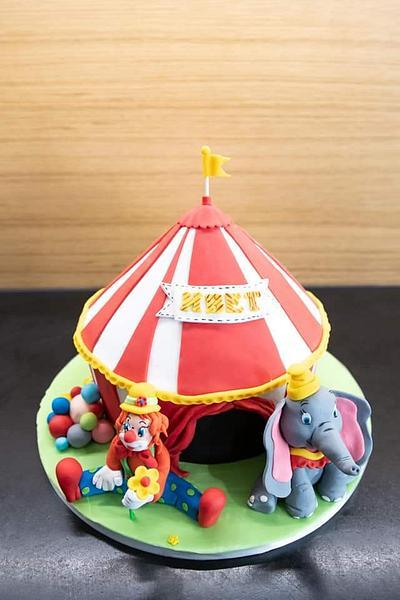 Circuss cake - Cake by BoryanaKostadinova