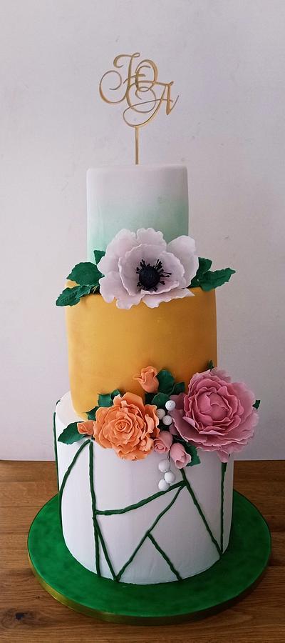 Wedding cake - Cake by BoryanaKostadinova