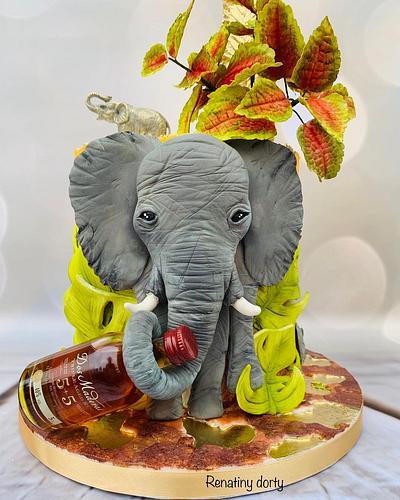 Elephant with rum - Cake by Renatiny dorty