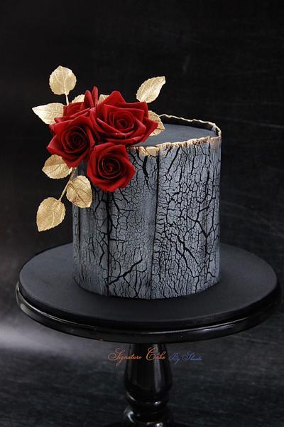 Aged Wood !  - Cake by Signature Cake By Shweta