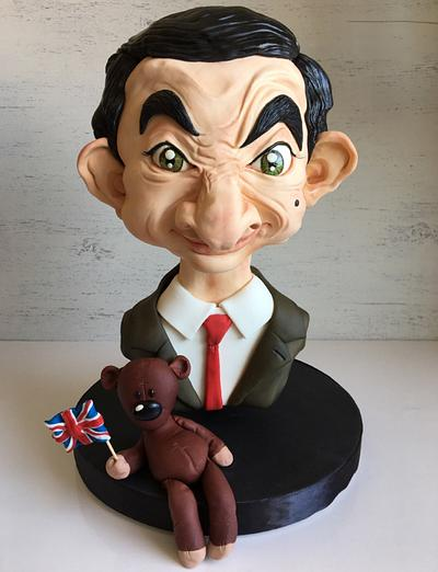 Mr. Bean Caricature  - Cake by Pompea Camposeo