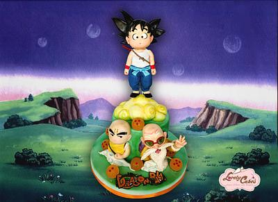 Dragon ball for Sugar Artist League Collaboration  - Cake by Lovely Cakes di Daluiso Laura