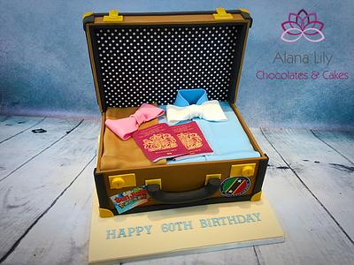 Off on Their Travels - Cake by Alana Lily Chocolates & Cakes