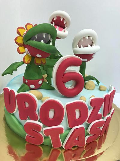 super mario cake - Cake by Jolanta Nowocin