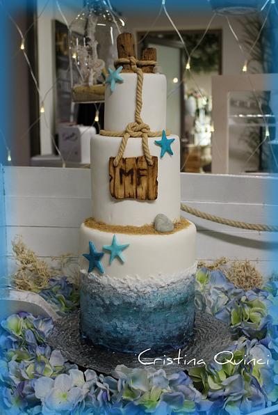 Summer Wedding Cake - Cake by Cristina Quinci