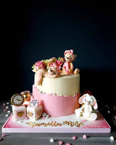 Bears and Bunny - Cake by Radoslava Kirilova (Radiki's Cakes)