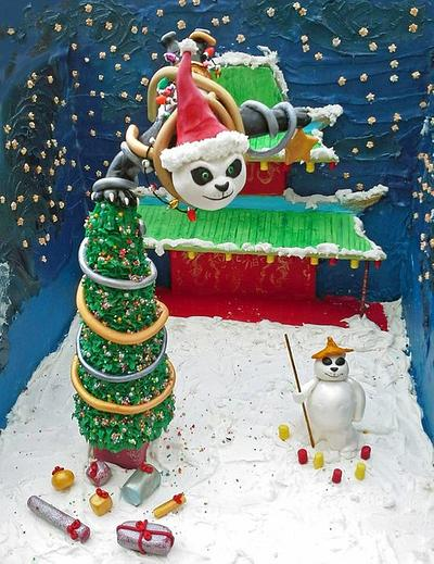 Bake A Christmas Wish - Kung Fu Panda - Cake by Take The Cake