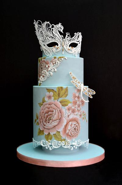 Masquerade - Cake by Kelvin Chua