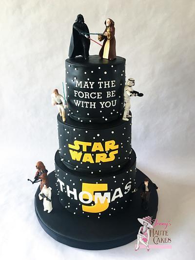 Star Wars - Cake by Jenny Kennedy Jenny's Haute Cakes