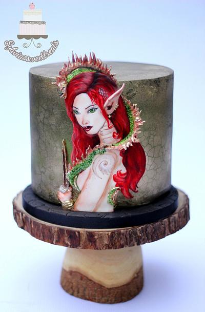 Sugar Myths and Fantasies 2.0 - Cake by Sylwia