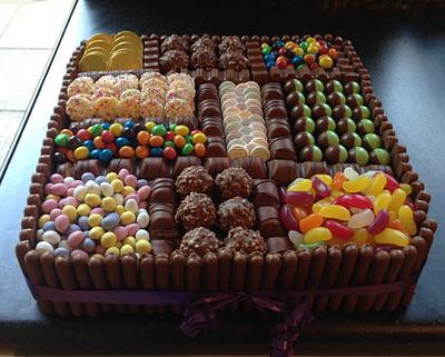 Box of sweets cake - Cake by sarahf