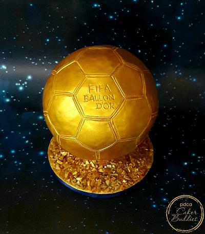 Caker Buddies Collab-Glamour-FIFA BALLON D'OR - Cake by Mahua's Fresh From Oven