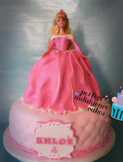 Sleeping Beauty Doll Cake - Cake by Maria Cazarez Cakes and Sugar Art
