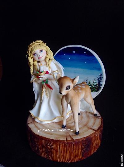 Angel  - Cake by Le dolci creazioni di Rena