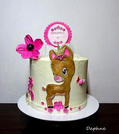 Fawn for a little Princess - Cake by Daphne