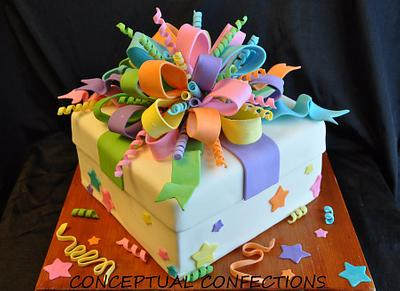 Gift Box - Cake by Jessica