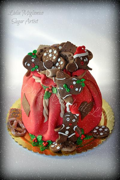 Gingerbread family and Christmas - Cake by Il Dolce Mondo di Lidia