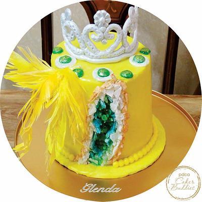 GOLDEN ROSE - Cake by cakeyluv