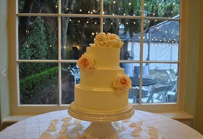 Gluten free wedding cake, Pastel de boda - Cake by Simply Sweet Shop