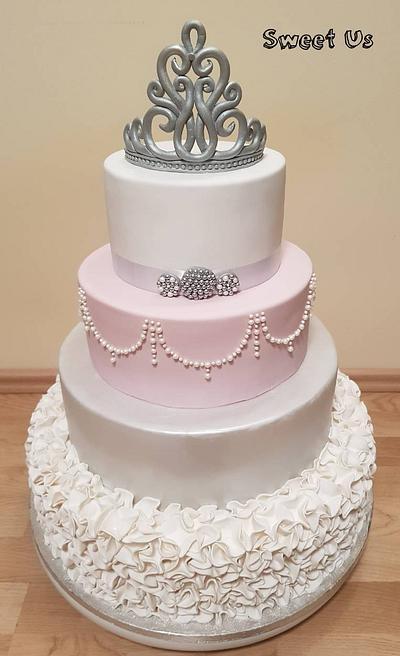 18th birthday cake - Cake by Gabriela Doroghy