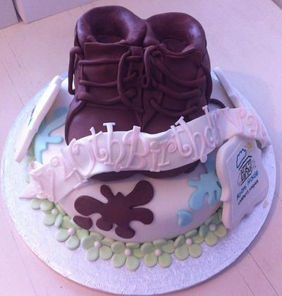 Walking for Charity! - Cake by CakeDIY