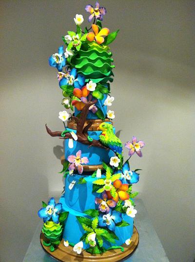 Tropics - Cake by Bryson Perkins