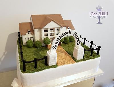 Southfork Ranch Wedding cake - Cake by Cake Addict