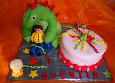 gâteau Dinosaure - Cake by Séverine