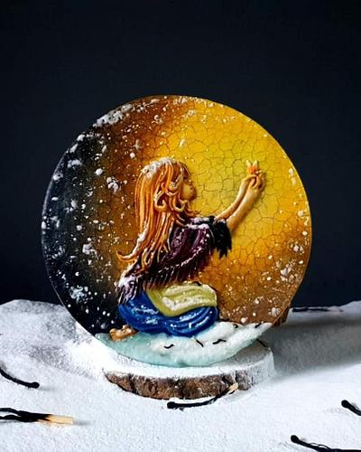 The Little Match Girl - Cake by Radoslava Kirilova (Radiki's Cakes)