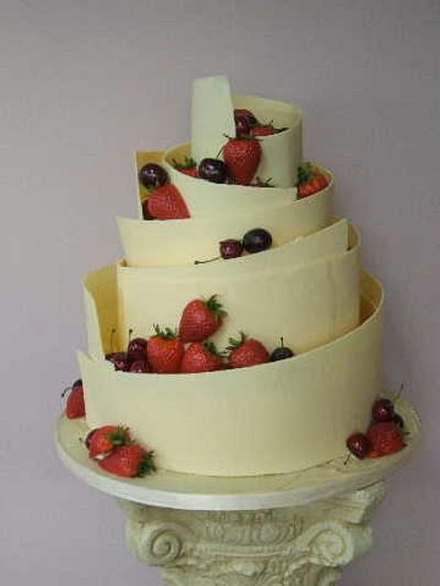 Tooty Fruity! Belgian Chocolate Wrap - Cake by Patricia
