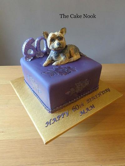 60th Birthday cake - Cake by Zoe White