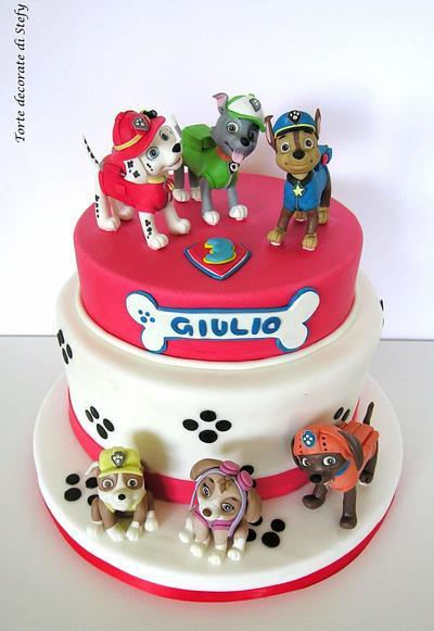 Paw Patrol - Cake by Torte decorate di Stefy by Stefania Sanna