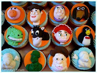 Toy Story 2 Cupcakes - Cake by Samantha Eyth