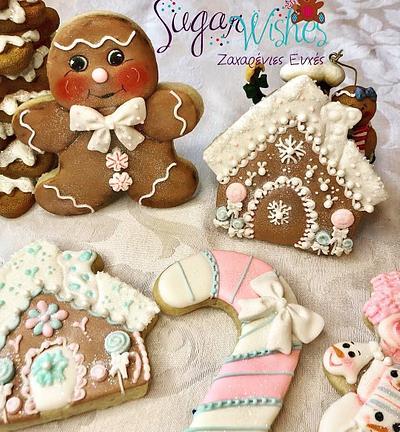 Gingerbread  - Cake by Tina Tsourtsoulas