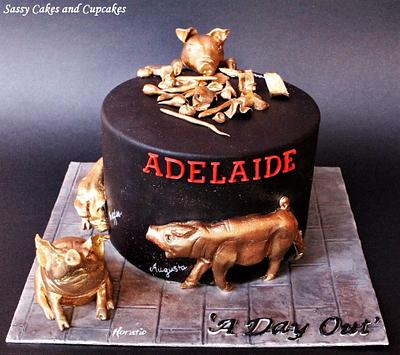 CPC 3BD Collaboration - A Day Out - Cake by Sassy Cakes and Cupcakes (Anna)