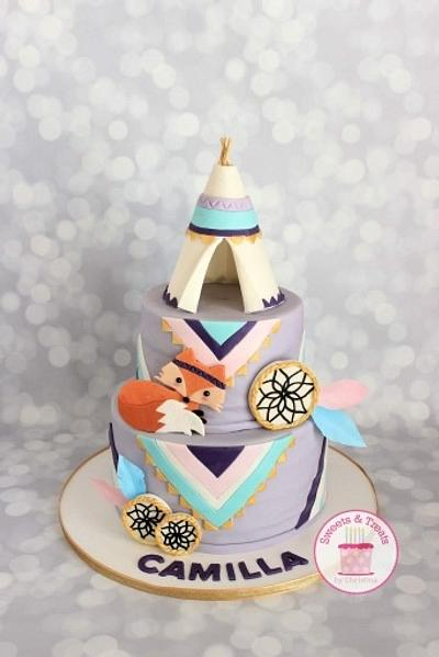 Teepee Cake - Cake by Sweets and Treats by Christina
