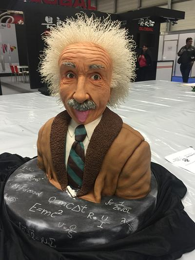 Albert Einstein Cake - Cake by İnci Orfanlı Erol