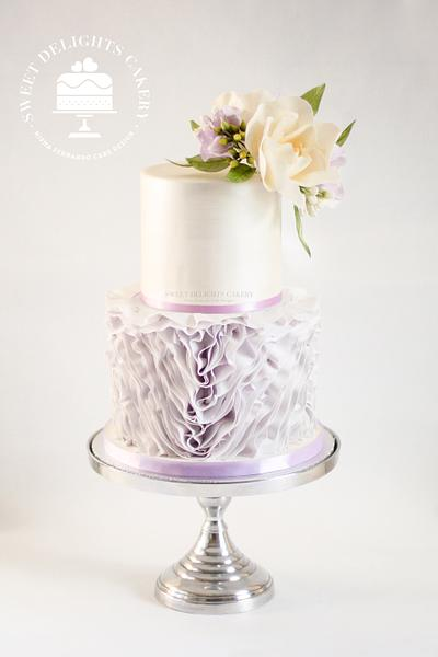 Pretty In Lavender - Cake by Sweet Delights Cakery