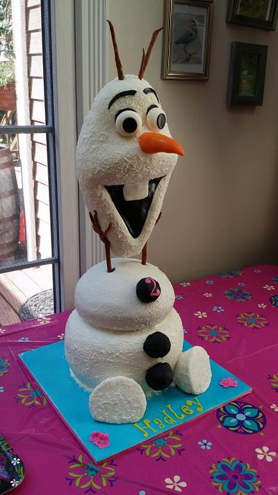 OLAF - Cake by Simply Divine Cakery