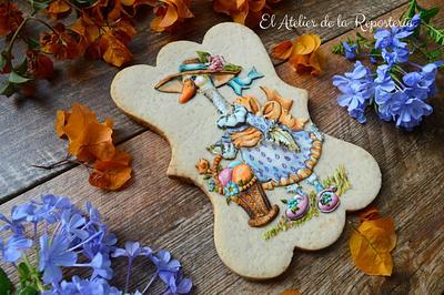 Cookie Gansa Primaveral - Cake by El Atelier de la Repostería