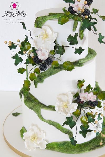 """Fairydust Woodland Cake"" - Cake by Betty's Bakery (molecular sensations)"