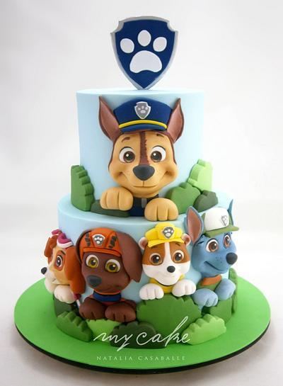 Paw Patrol Cake - Cake by Natalia Casaballe
