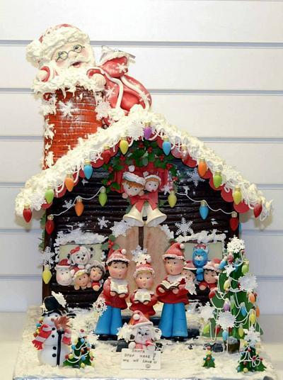 Santa we all love you! - Cake by Ribana Cristescu