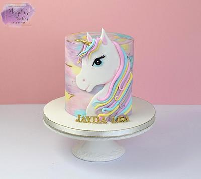 Unicorn - Cake by Magda's Cakes (Magda Pietkiewicz)