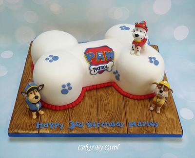 Paw Patrol - Cake by Carol